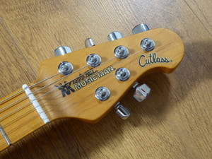 Music Man Cutlass Headstock
