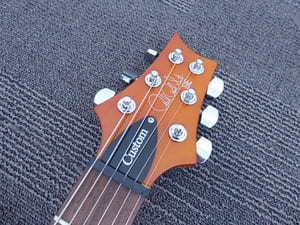 PRS SE Custom 22 Semi-Hollow Headstock