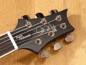 PRS SE Mark Holcomb Signature Headstock
