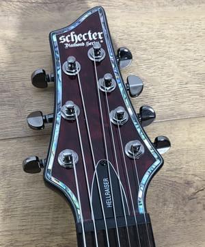 Schecter Hellraiser C-7 Headstock