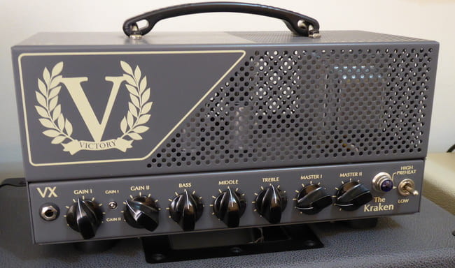 Victory VX The Kraken Lunchbox Guitar Head Amplifier