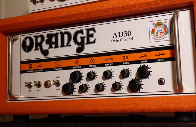 Orange AD30H Head