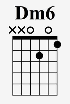 D minor 6 chord