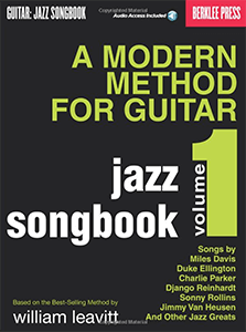 A Modern Method for Guitar - Jazz Songbook 1