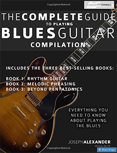 Complete Guide To Playing Blues Guitar Compilation
