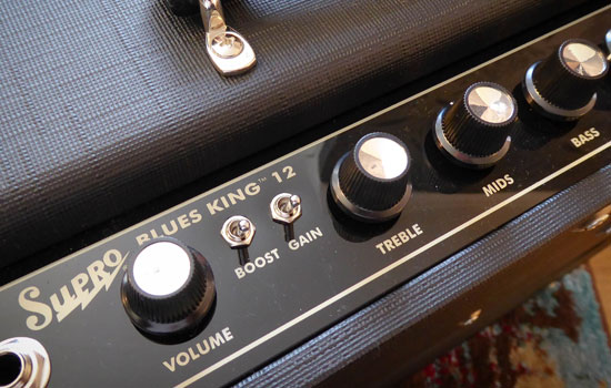 Supro Blues King Review - Controls