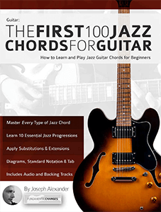 The First 100 Jazz Chords for Guitar
