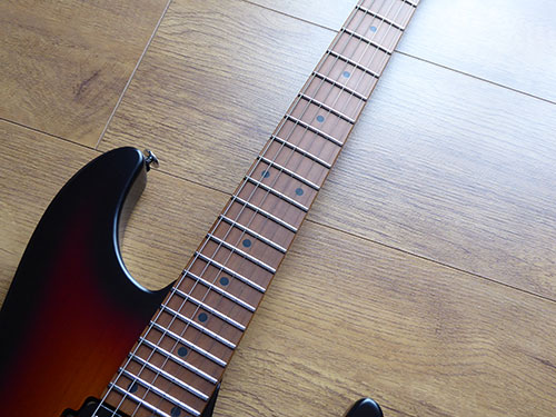 baked maple s tech neck and fretboard