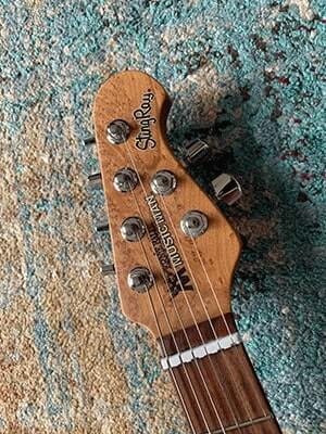 Music Man Stingray Headstock
